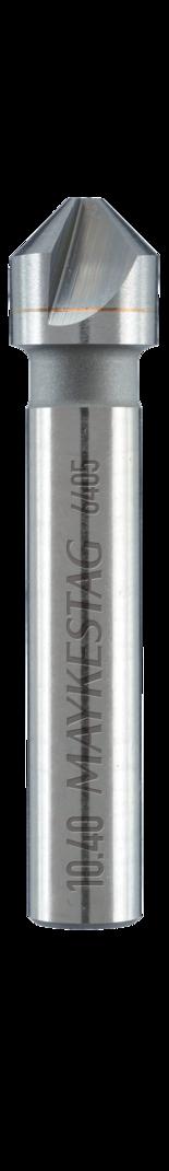 Alpen 640500630100 DIN 335 C 90/° 6,3mm Solid carbide countersinks