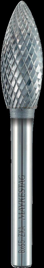 Alpen 614600710100 DIN 6539 K20 7,1mm Solid carbide stub drills