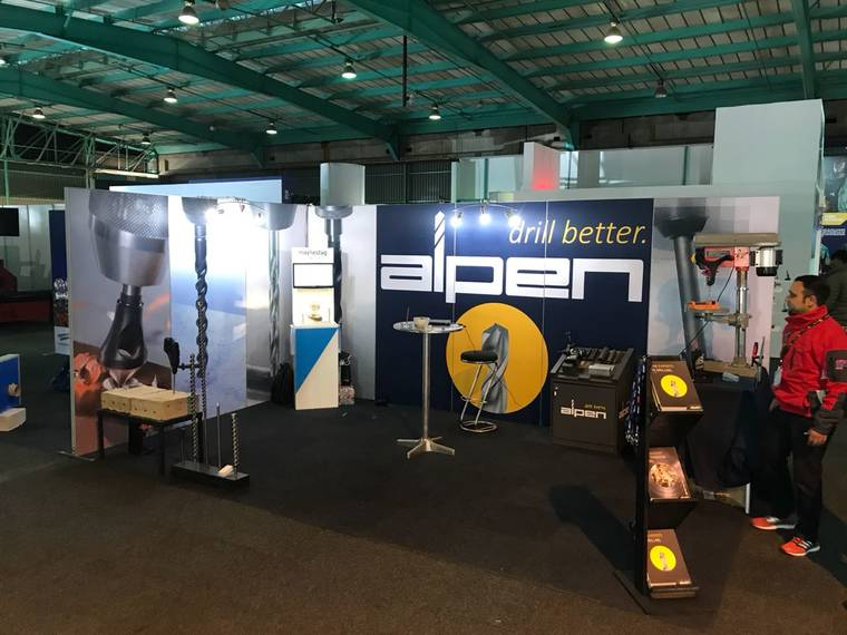 ALPEN booth at the Electrica Mining Africa in Johannesburg, South Africa