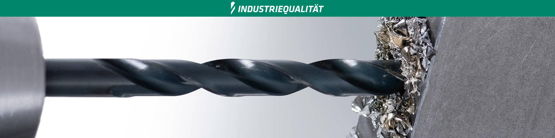 Alpen 615700900100 DIN 338 K20 TIALN 9,0mm Solid carbide jobber drills